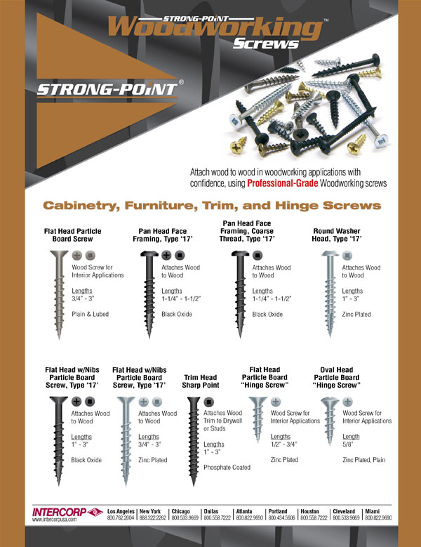 Woodworking Brochure