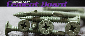 Strong-Point Cement Board