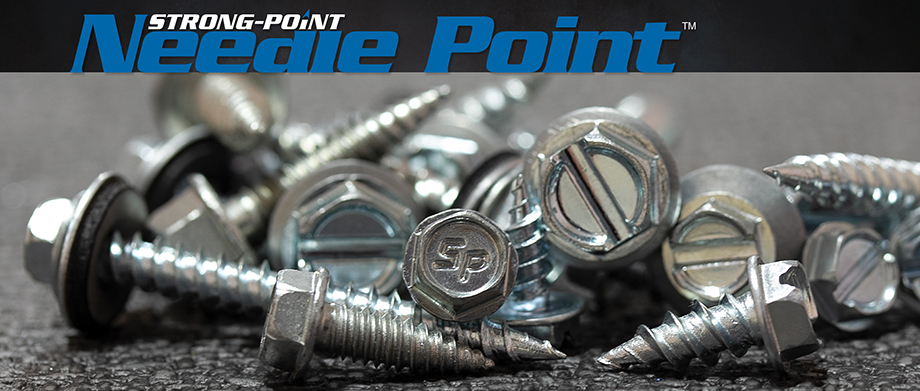 Strong-Point Needle Point Screws