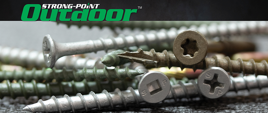 Strong-Point Outdoor Screws