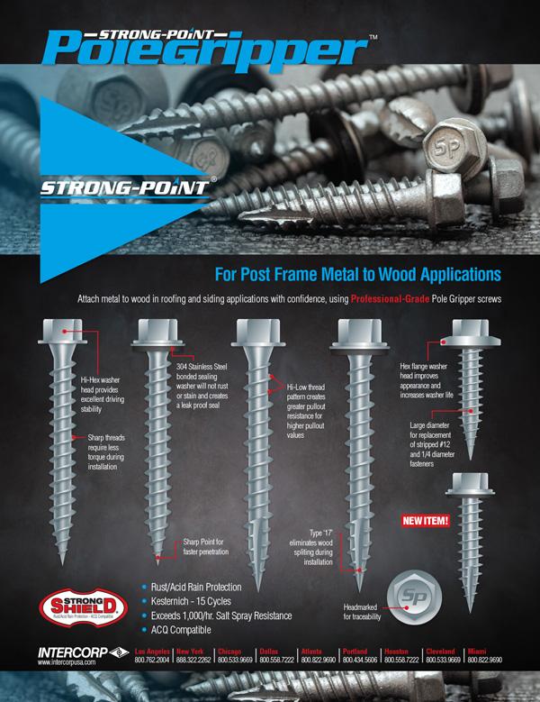 Strong-Point Pole Gripper Screws