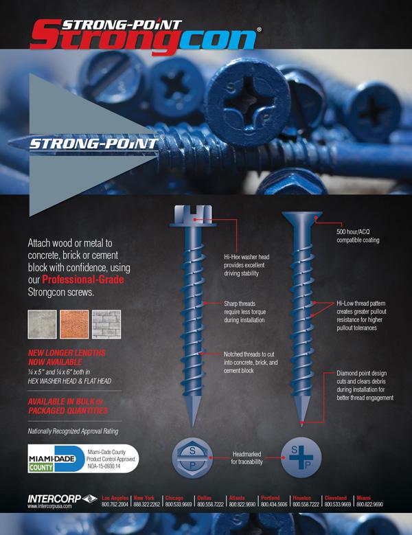 Strong-Point Strongcon Screws