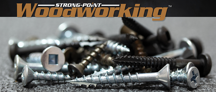 Strong-Point Woodworking Screws